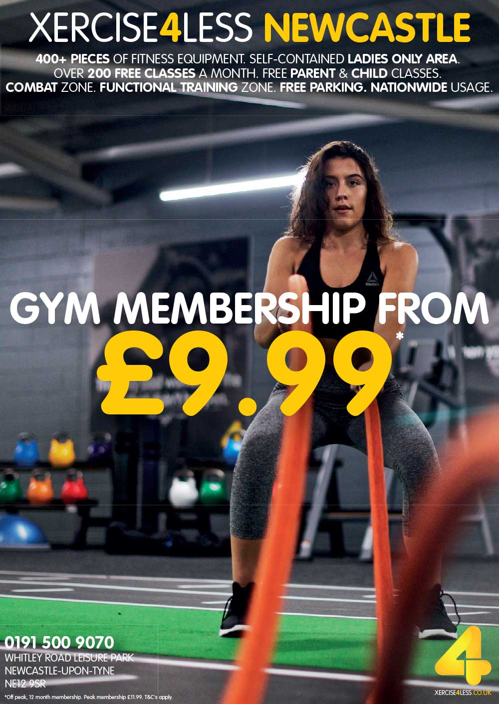 Xercise4Less programme advert 2017